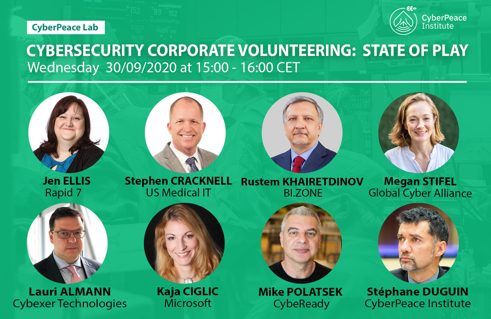 CyberPeace Lab – Cybersecurity Corporate Volunteering: State of Play
