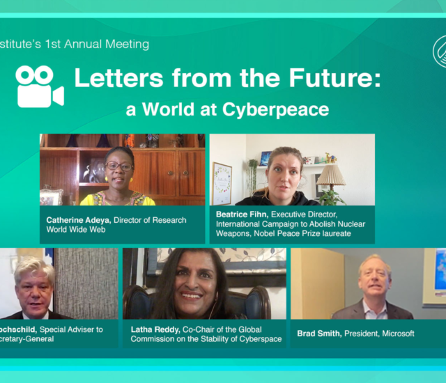 Letters from the Future: A World at Cyberpeace