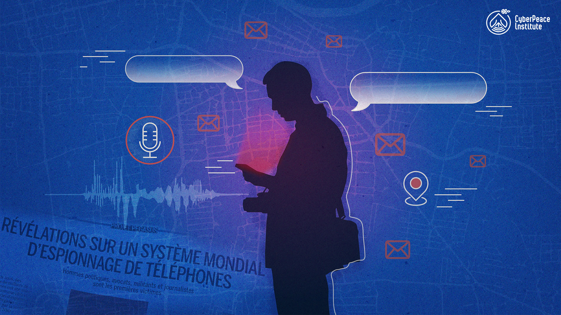 Accountability for illegal surveillance by spyware