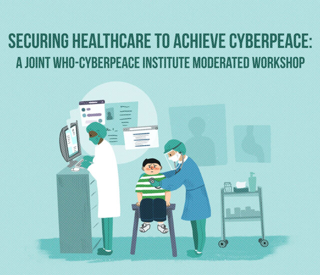Securing Healthcare to Achieve Cyberpeace