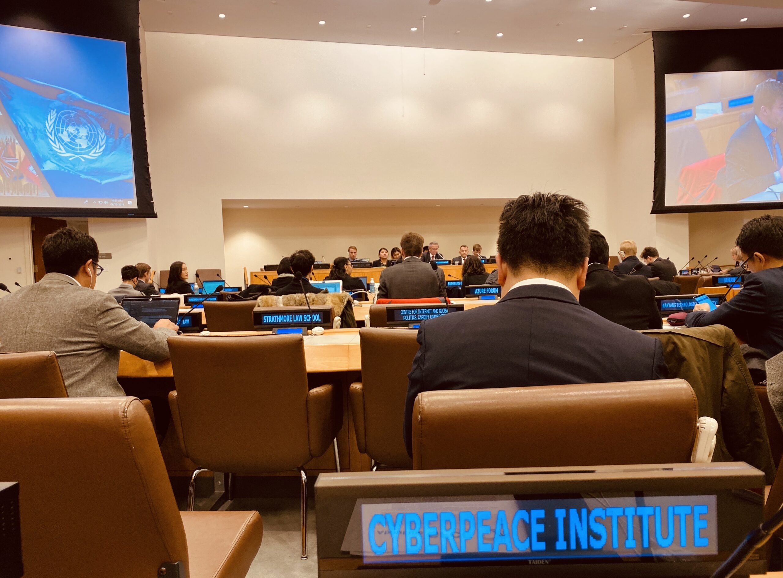 The CyberPeace Institute at the UN OEWG's Multi-Stakeholder Meeting